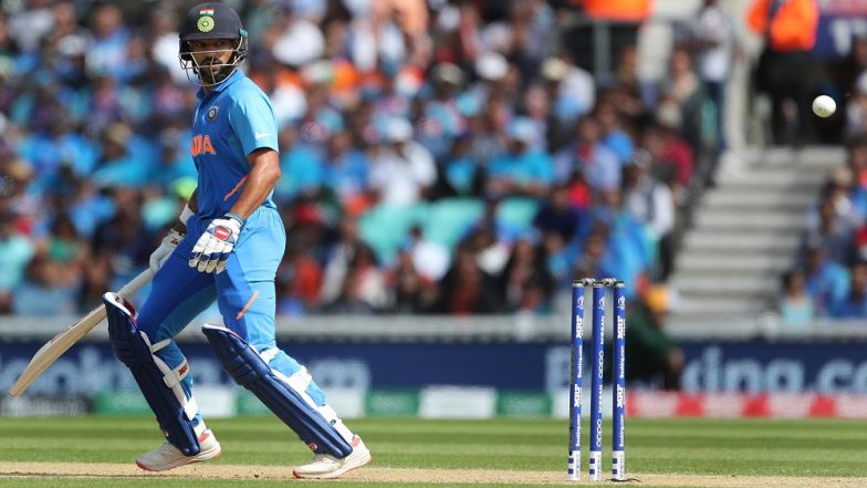 Team India in Shikhar Dhawan Quandary As Virat Kohli & Co Await Specialist's Report Ahead of IND vs NZ ICC Cricket World Cup 2019