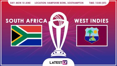 South Africa vs West Indies, ICC Cricket World Cup 2019 Match Preview: Proteas Face Uphill Task vs Windies at Hampshire Bowl