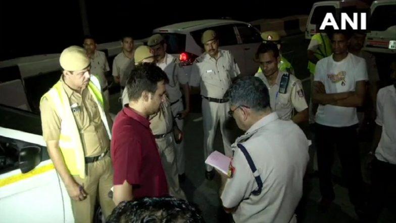 Delhi: ABP News Team Fired Upon by Bike-Borne Assailants at Barapullah Bridge