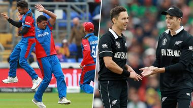 Afghanistan vs New Zealand ICC Cricket World Cup 2019 Weather Report: Check Out the Rain Forecast and Pitch Report of the Cooper Associates County Ground in Taunton