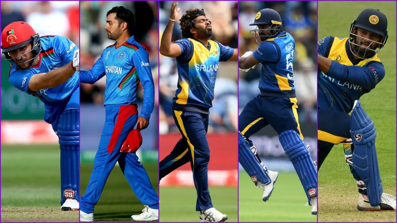 AFG vs SL, ICC Cricket World Cup Match 7, Key Players: Rashid Khan, Dimuth Karunaratne, Lasith Malinga and Other Cricketers to Watch Out for at Sophia Gardens
