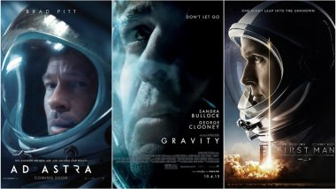 Ad Astra: Brad Pitt Starrer's New Poster Reminds Us of These Space Films!