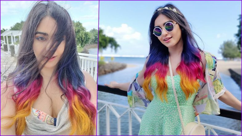 Adah Sharma Flaunts 'Purple, Pink, Orange' Hair Colours! See Commando 3 Actress' Pic and Video
