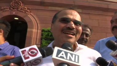 Congress' Adhir Ranjan Chowdhury Apologises For 'Nirbala' Jibe Against Nirmala Sitharaman in Lok Sabha