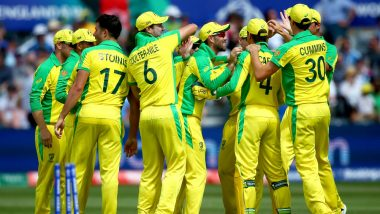 AUS vs WI, CWC 2019 Match 10: Australia Set to Go With Unchanged Playing XI Against West Indies