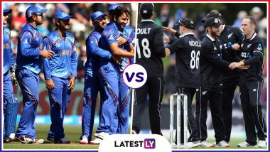 AFG vs NZ Head-to-Head Record: Ahead of ICC Cricket World Cup 2019 Clash, Here Are Match Results of Afghanistan vs New Zealand Encounters in ODIs!