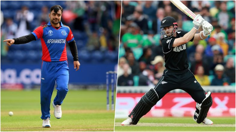 AFG vs NZ, ICC Cricket World Cup 2019: Rashid Khan vs Kane Williamson and Other Exciting Mini Battles to Watch Out for at County Ground in Taunton