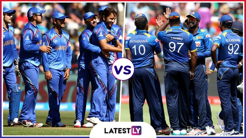 AFG vs SL Head-to-Head Record: Ahead of ICC CWC 2019 Clash, Here Are Match Results of All Afghanistan vs Sri Lanka Encounters!