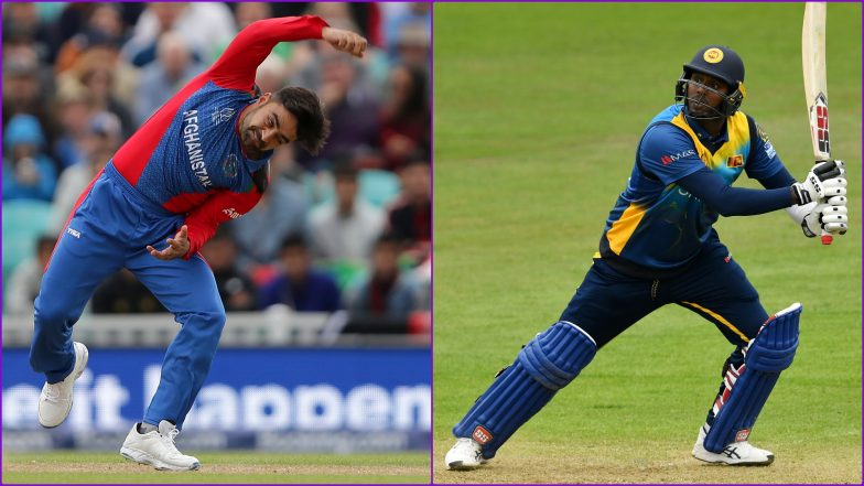 AFG vs SL, ICC Cricket World Cup 2019: Rashid Khan vs Angelo Mathews and Other Exciting Mini Battles to Watch Out for at Sophia Gardens