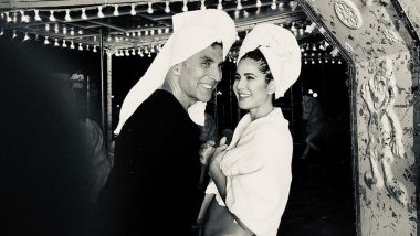 Akshay Kumar and Katrina Kaif are Busy Shooting the 'Tip Tip Barsa Paani' Remake for Sooryavanshi and This Picture is Proof