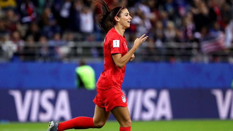 Alex Morgan's 'Tea-Sipping' Celebration During USA's FIFA Women's World Cup 2019 Semis Against England Sparks Outrage, She Explains Motive Behind Gesture