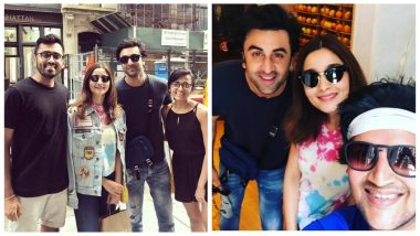 Alia Bhatt and Ranbir Kapoor Are Having a Fun Time On The Streets Of NYC!