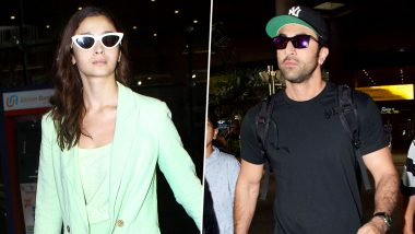 Alia Bhatt and Ranbir Kapoor Rock the Airport Look As They Return Post Brahmastra Shoot in Varanasi