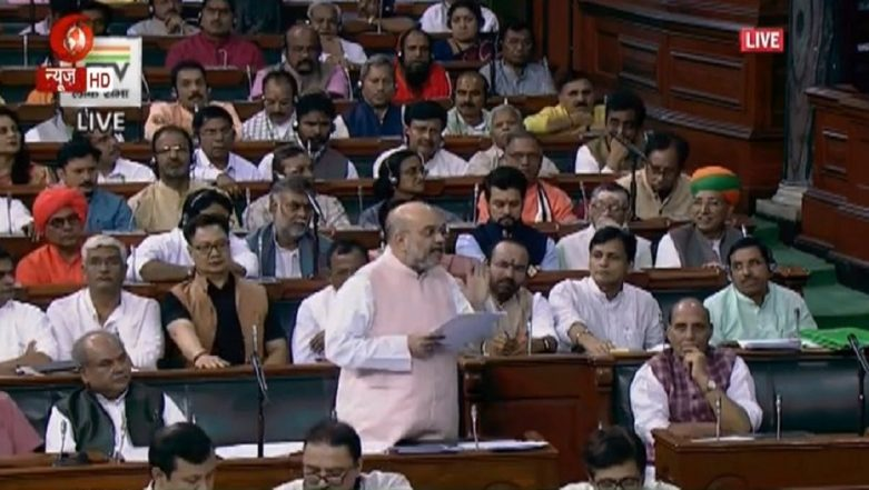 Amit Shah in Lok Sabha: 'Jawaharlal Nehru Responsible For Jammu & Kashmir Conflict...Congress Even Lacked Will to Ban Jamaat-e-Islami'