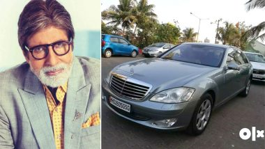 Amitabh Bachchan's Old Car Mercedes Benz S-Class is on Sale on OLX For Rs 9.9 Lakh!