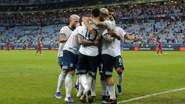 Argentina Vs Chile Copa America 2019