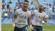How To Watch Argentina vs Uruguay, Copa America 2021 Live Streaming Online On SonyLiv: Free Telecast of South American Championship Football Match in India