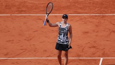 Ashleigh Barty vs Magda Linette, French Open 2021 Live Streaming Online: How to Watch Free Live Telecast of Women's Singles Tennis Match in India?