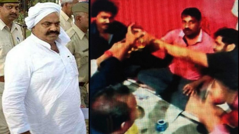 Uttar Pradesh Jail Turns into Pubs For Gangsters: Liquor Party Held For Don Atiq Ahmed in Prison, Photos Leaked