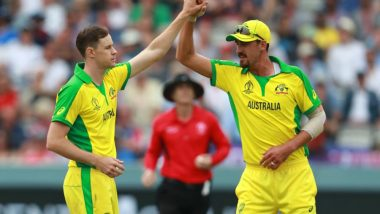 England vs Australia, ICC CWC 2019 Match Result and Report: Aaron Finch Ton, Jason Behrendorff & Mitchell Starc's Bowling Effort Help Aussie Reach Semi-Final With a Win Over ENG