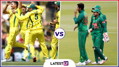 AUS vs BAN Head-to-Head Record: Ahead of ICC CWC 2019 Clash, Here Are Match Results of Last 5 Australia vs Bangladesh Encounters!