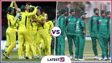 Pakistan vs Australia Head-to-Head Record: Ahead of ICC Cricket World Cup 2019 Clash, Here Are Match Results of Last 5 PAK vs AUS Encounters!