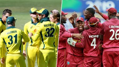 AUS vs WI T20I 2020 Series: Cricket Australia Postpone Three-match T20I Series Against West Indies to October Amid COVID-19 Pandemic