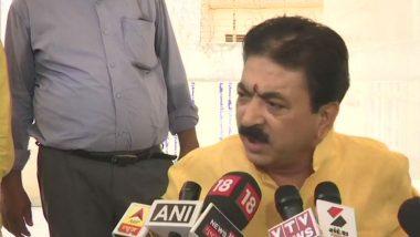 Got Swayed by Emotions, Says BJP MLA Balram Thawani Who Was Caught on Camera Kicking Woman