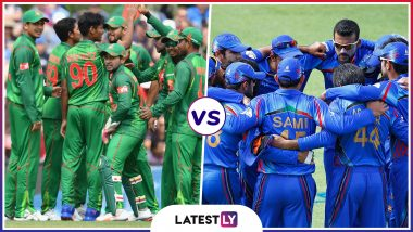 BAN vs AFG Head-to-Head Record: Ahead of ICC CWC 2019 Clash, Here Are Match Results of Last 5 Bangladesh vs Afghanistan Encounters!