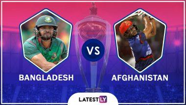 Bangladesh vs Afghanistan Highlights of ICC World Cup 2019 Match: Bangladesh Defeats Afghanistan by 62 Runs