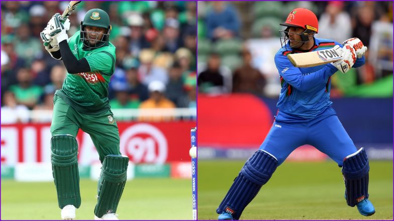 BAN vs AFG, ICC Cricket World Cup 2019: Shakib Al Hasan vs Mohammad Nabi and Other Exciting Mini Battles to Watch Out for at The Rose Bowl in Southampton