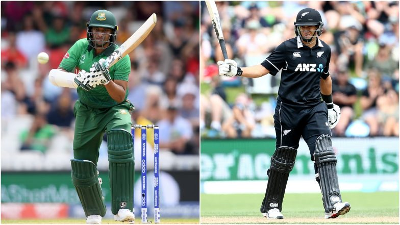 BAN vs NZ, ICC Cricket World Cup 2019: Shakib Al-Hasan vs Ross Taylor and Other Exciting Mini Battles to Watch Out for at The Oval in London