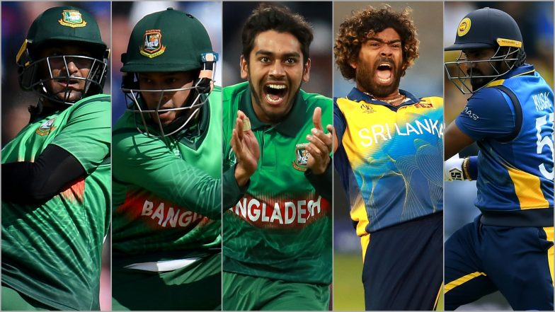 BAN vs SL, ICC Cricket World Cup 2019 Match 16, Key Players: Shakib Al Hasan, Kusal Perera, Mehidy Hasan and Other Cricketers to Watch Out for at Bristol County Ground