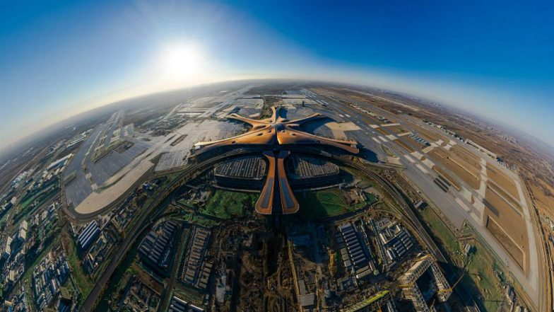 Giant Beijing Daxing International Airport Set to Open on Eve of China's 70th Anniversary