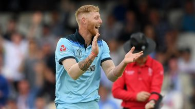 Ben Stokes Catch in ICC Cricket World Cup 2019 Has Got 'Competition', Check Out Video of Cameraperson Completing a Stunning One-Handed Take During BAN vs SA Match
