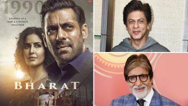 Bharat: Salman Khan Pays Tribute to Good Friend Shah Rukh Khan and Bollywood Legend Amitabh Bachchan Through This Ali Abbas Zafar Movie (SPOILER ALERT)
