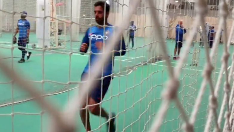 Bhuvneshwar Kumar Is Back? Bhuvi Seen Bowling In The Nets Ahead of India vs West Indies ICC Cricket World Cup 2019 Match (Watch Video)