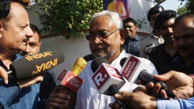 Bihar Encephalitis Deaths: Nitish Kumar Visits SKM Hospital In Muzaffarpur as Death Toll Rises, CM Greeted With Protests