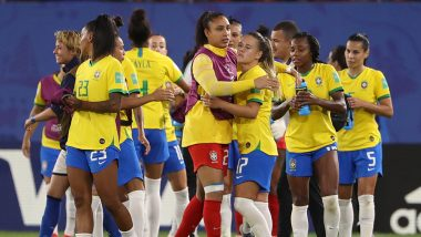 France vs Brazil, FIFA Women's World Cup 2019 Live Streaming: Get Telecast & Free Online Stream Details of Round of 16 Football Match in India