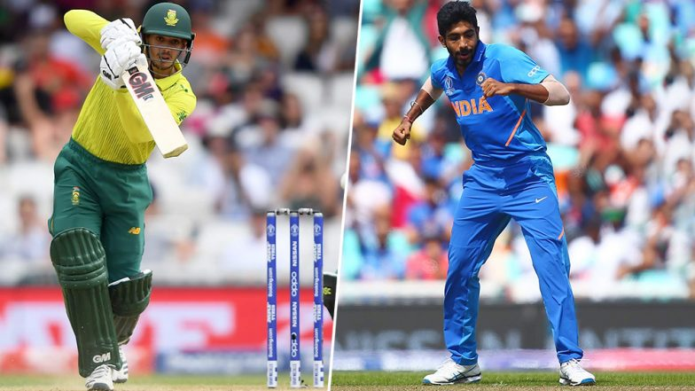 Jasprit Bumrah vs Quinton de Kock and Other Exciting Mini Battles to Watch Out for During India vs South Africa 1st ODI 2020 in Dharamshala