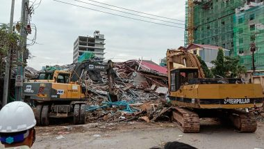Cambodia Building Collapse: 3 Dead, Dozens Feared Trapped After 7-Storey Under-Construction Structure Falls in Preah Sihanouk