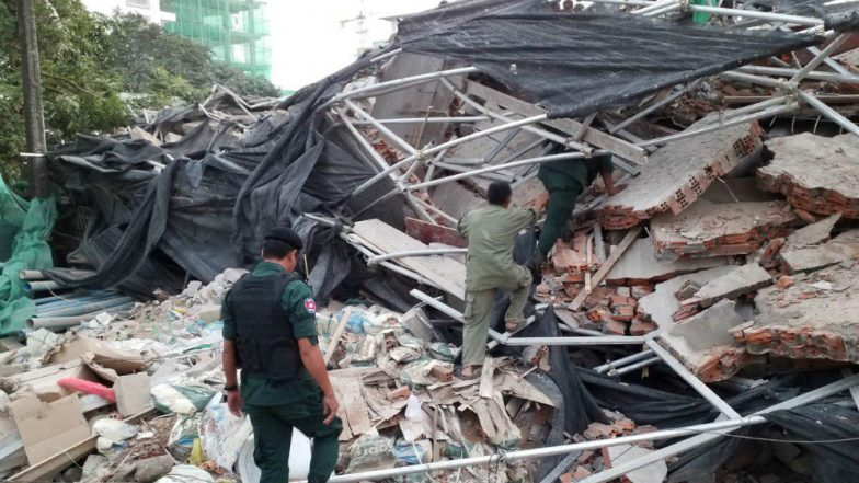 Cambodia: Building Collapse in Preah Sihanouk, Toll Rises to 24