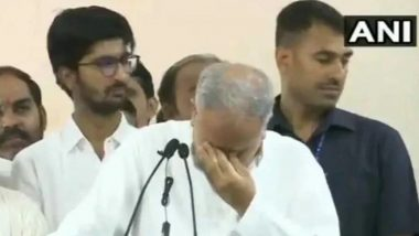 Chhattisgarh CM Bhupesh Baghel Gets Emotional After State Congress Gets Mohan Markam As New Chief; Watch Video