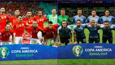 Chile vs Uruguay, Copa America 2019 Live Streaming & Match Time in IST: Get Telecast & Free Online Stream Details of Group C Football Match in India