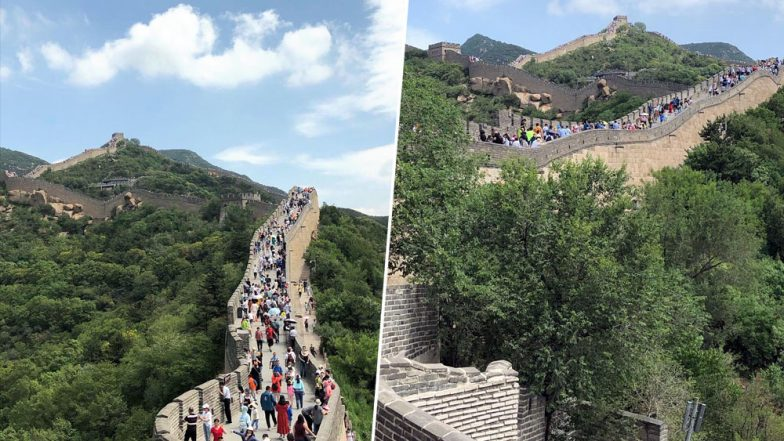 Great Wall of China Being Rebuilt the Ancient, Traditional Way; Cement Ditched For Labourers, Mules and Bricks