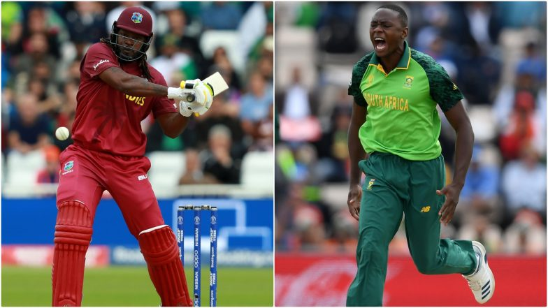 SA vs WI, ICC Cricket World Cup 2019: Chris Gayle vs Kagiso Rabada and Other Exciting Mini Battles to Watch Out for at Rose Bowl Cricket Ground