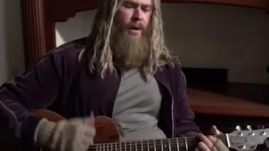 Chris Hemsworth's 'Fat Thor' Sings the Saddest Johnny Cash Song in This  Avengers: Endgame BTS Clip and We Love It! (Watch Video)