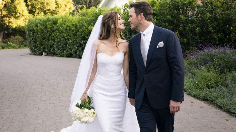 Chris Pratt Jokes That He Apparently Downed 12 Lbs Of Wedding Cake As He Married Katherine Schwarzenegger!