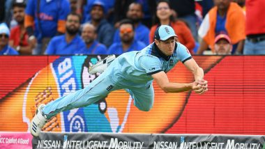 Chris Woakes Takes a Stunning Catch to Dismiss Rishabh Pant During IND vs ENG, ICC CWC 2019 Match, Watch Video