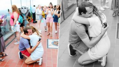 Woman Used Twitter to Track Down Mystery Photographer Who Captured Her Proposal! Internet Is Beyond Happy